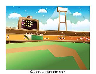 baseball stadium vector clipart eps images 2 057 baseball stadium rh canstockphoto ie baseball field clipart free baseball field clipart