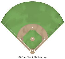 baseball, suolo