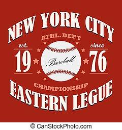 Baseball t-shirt graphic design