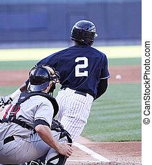 baseball teig, schwingen, right-handed