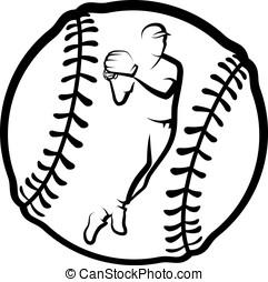Baseball Throw In Ball
