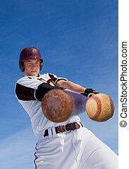 baseball, uderzyć