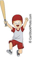 Baseball Victory Jump