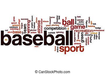 Baseball word cloud