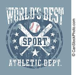 baseball world best sport