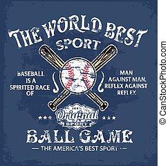 baseball world sport