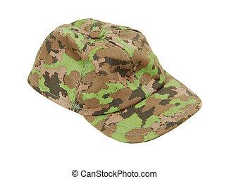 baseballowy kapelusz, kamuflaż