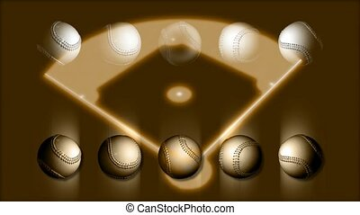 Baseballs and Diamond