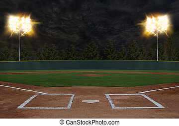 basebol, estádio