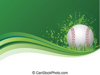 basebol, fundo