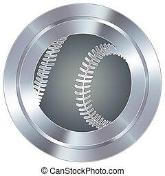 basebol, industrial, botão