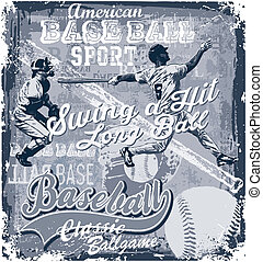 basebol, longball, golpe