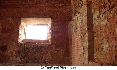 Basement of an abandoned castle