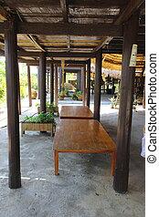 Basement of Thai folksiness