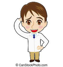 Bashful pharmacist