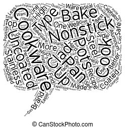 Basic Cookware Explained text background wordcloud concept