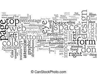 Basic Graphic Design text background wordcloud concept