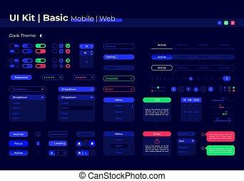 Basic UI elements kit