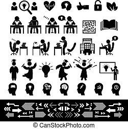 successful study symbol set