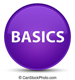 Basics special purple round button