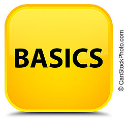 Basics special yellow square button