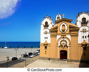 Basilica de Candelaria in Tenerife at Canary Islands