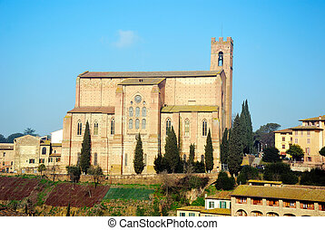 Basilica di San Domenico (Siena) - An ancient chuerch in the...
