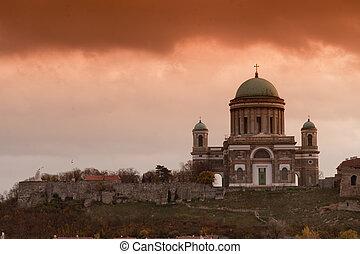 Basilica in Esztergom (Hungary)