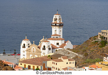 Basilica of Candelaria. Canary Island Tenerife, Spain