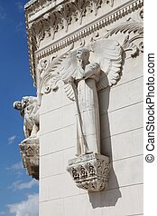 Basilica of Fourviere - Details of basilica of Fourviere in ...