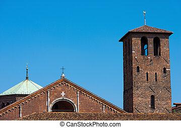 Basilica of Saint Ambrogio - Milano Italy