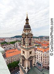 Basilica of Saint Istvan in Budapest, Hungary