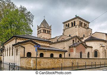 Basilica of Saint-Martin d'Ainay, Lyon, France
