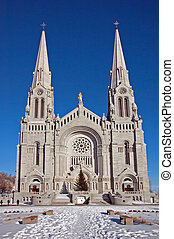 Basilica of Sainte-Anne-de-Beau pre, Quebec, Canada