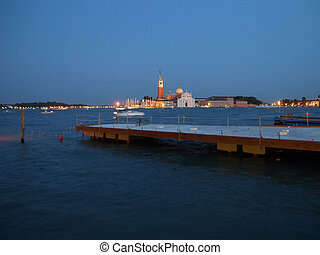 Basilica of San Giorgio Maggiore in Venice, Italy