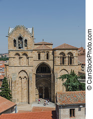 Basilica of San Vicente entrance