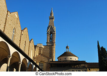 Basilica of Santa Croce in Florence ? Italy