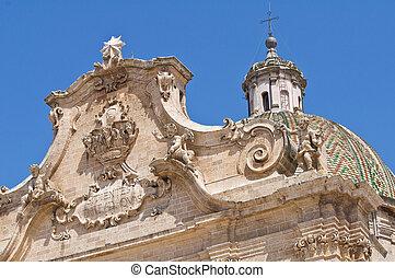 Basilica of SS. Rosario. Francavilla Fontana. Puglia. Italy.