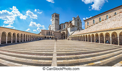 Basilica of St. Francis of Assisi, Assisi, Umbria, Italy