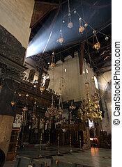 Basilica of the Nativity in Bethlehem, Israel