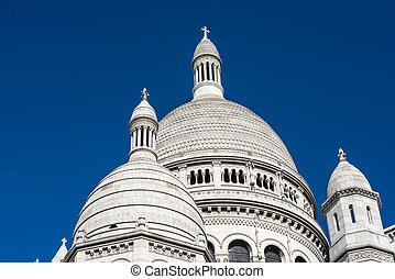 Basilica Coeur Sacre on Montmartre - Basilica of the Sacred...