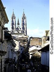 basilica-, quito, ecuador