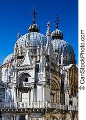 Basilica San Marco Dome in Venice, Italy