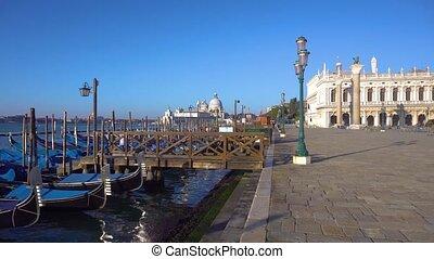 Basilica Santa Maria della Salute, Venice, Italy - Basilica...
