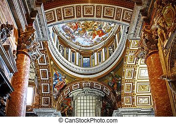 basilika, rom, vatikan