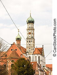 Basilika St. Ulrich in Augsburg (Bavaria, Germany)