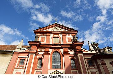 basilika, tschechisch, str., prag, republik, george's