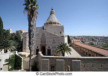 nazareth verk ndigung basilika israel basilika aus jesus nazareth kirche annunciation. Black Bedroom Furniture Sets. Home Design Ideas