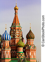 basil\'s, s., cathedral., rusia, moscú