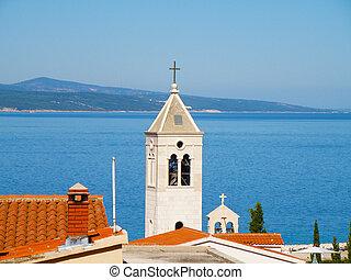 baska voda - small town in croatia